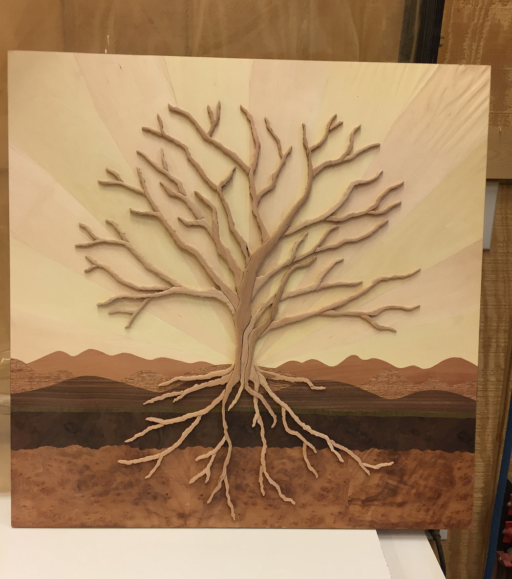 "Tree of Life Display Model (24"" x 24"")"