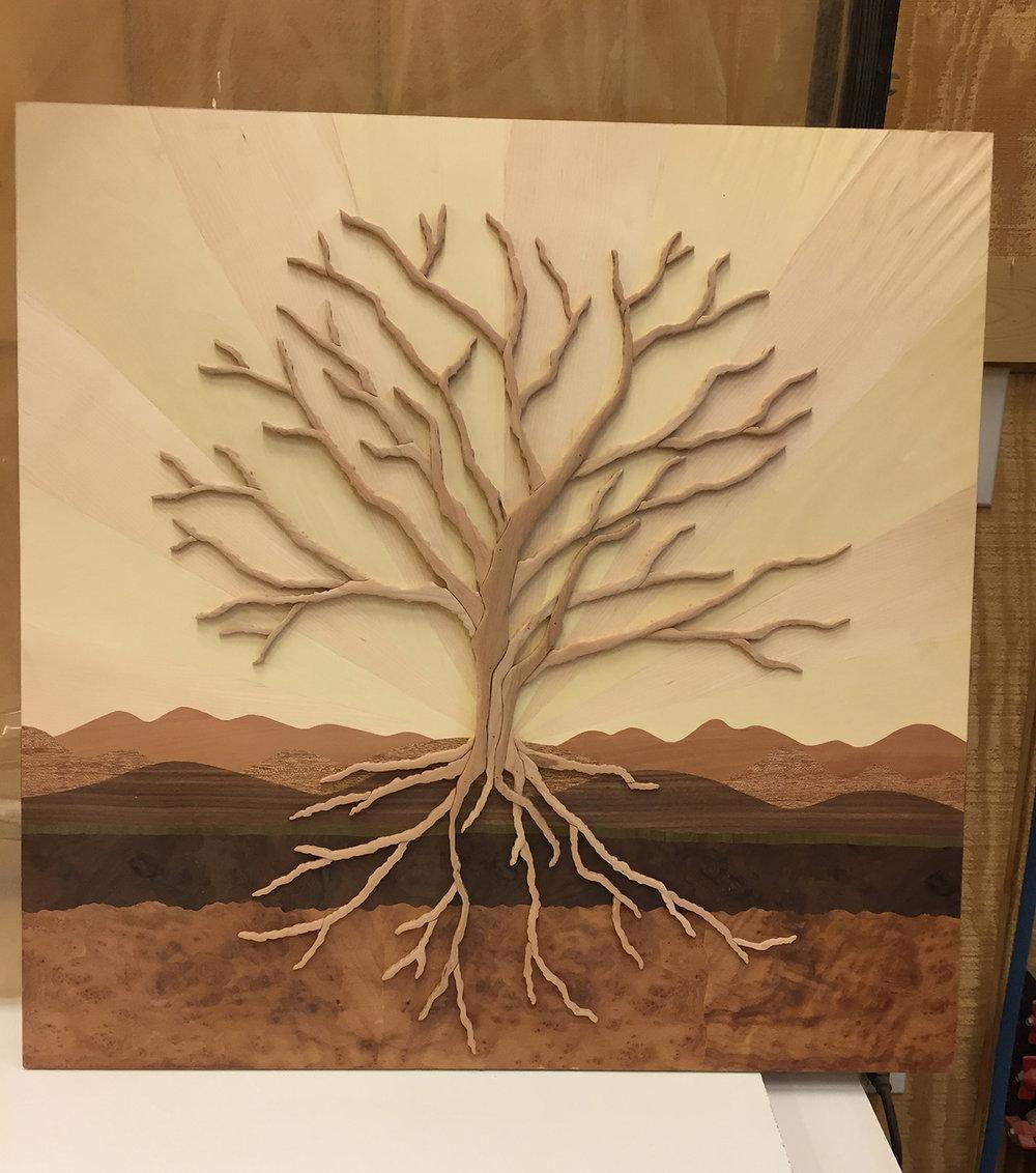 "Tree of Life Display Model (24"" x 24"")"