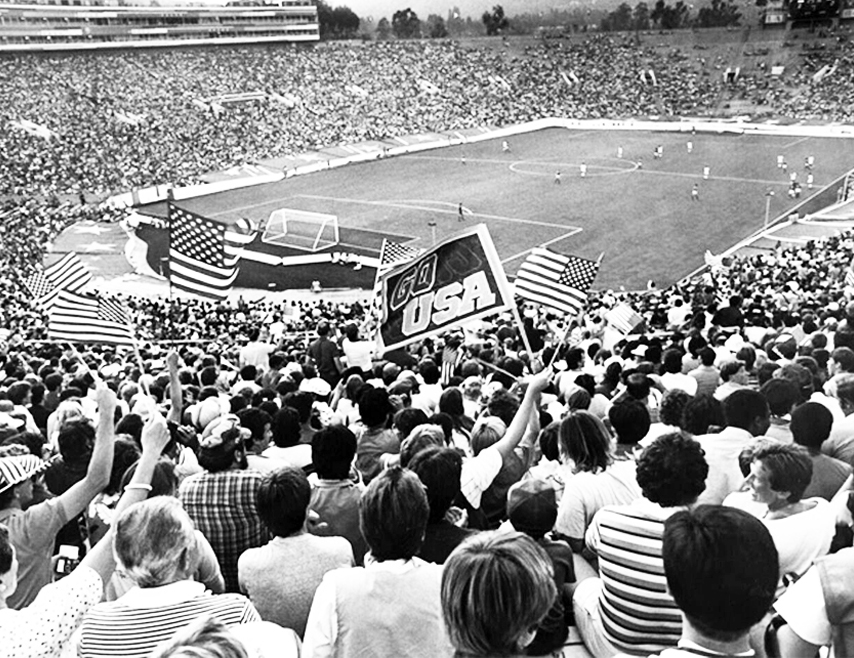 1984, Olympics Soccer Game