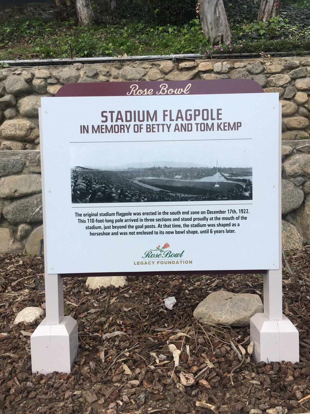 Flagpole: