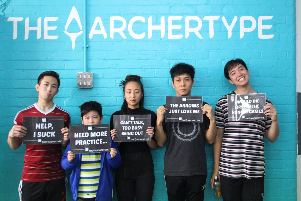 Copy of Bored of escape rooms and jumping parks then you have to try Archery Tag at The Archertype in Manchester