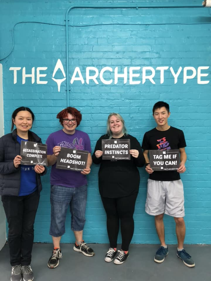 Copy of Have an unforgettable experience with us playing archery dodgeball - Combat Archery!