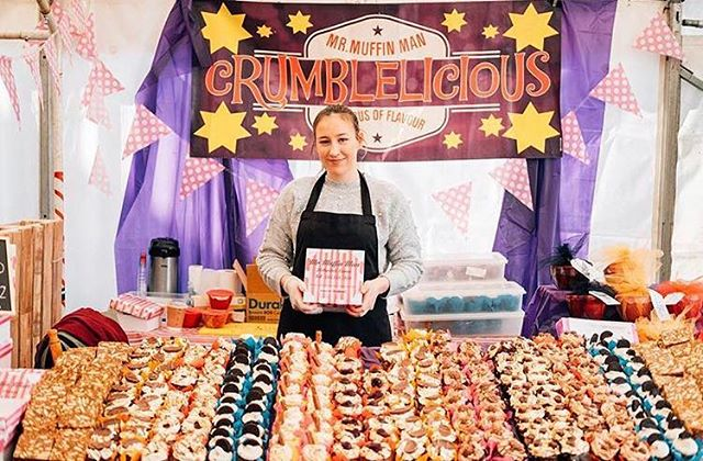 ❣️CRUMBLELICIOUS ❣️Mr Muffin Man will be trading at SPM this Sunday. We are delighted to welcome this business back to Hangar 1 following their Strandhill debut at last years food festival.