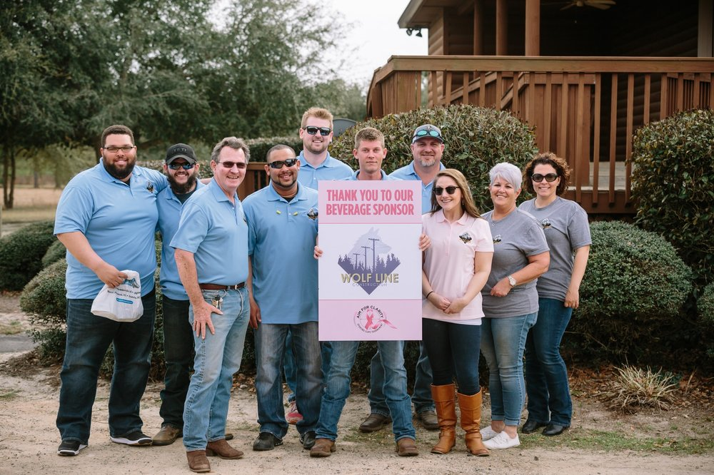 Beyond fiber optic installation we are dedicated to giving back to the community.