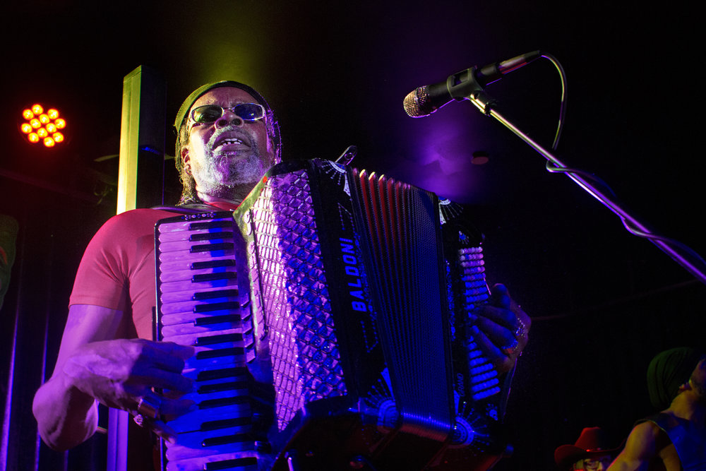 CJ Chenier of Zydeco