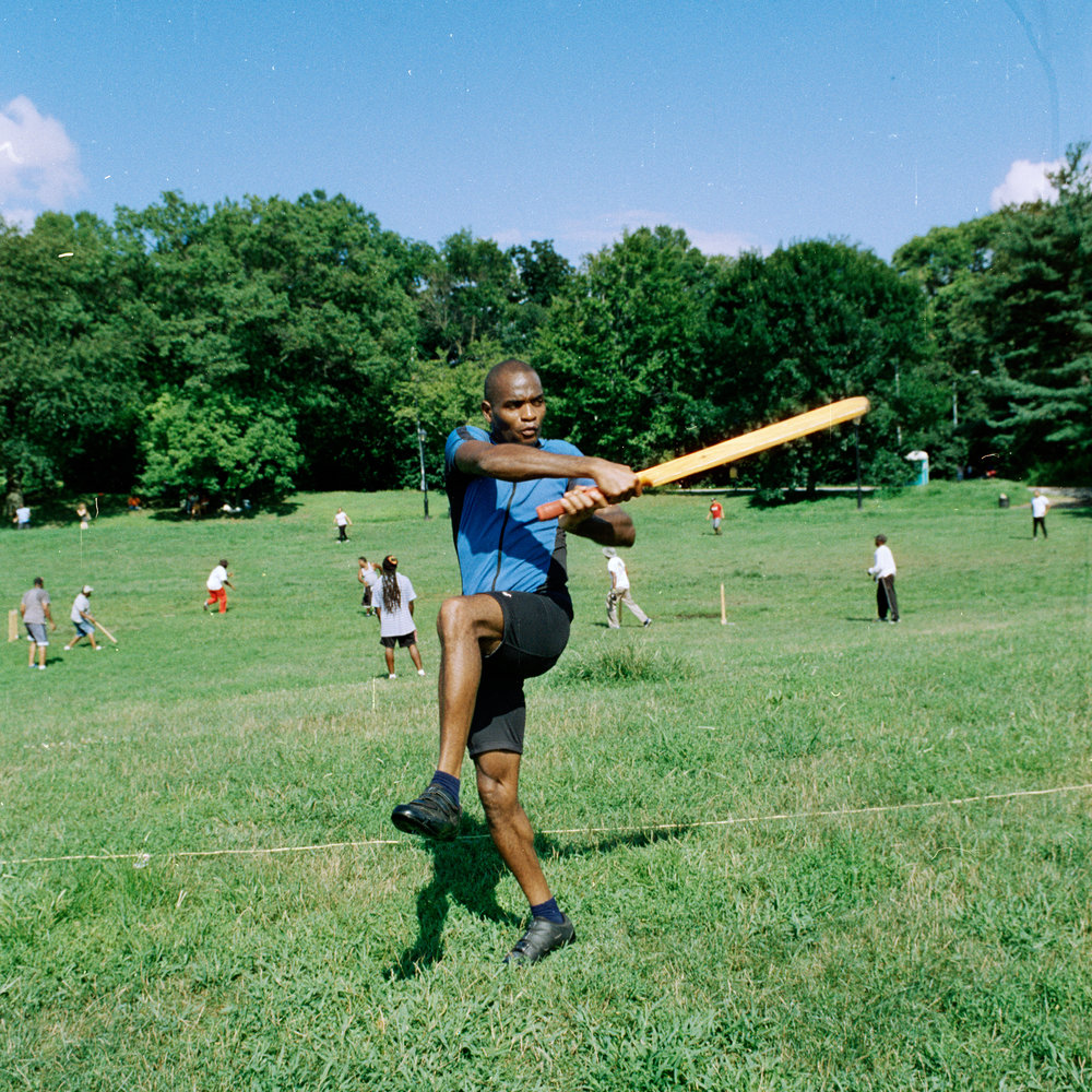 Cricket Player, Prospect Park