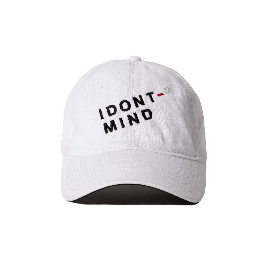 IDONTMIND-Dash-Hat-White-Front.jpg