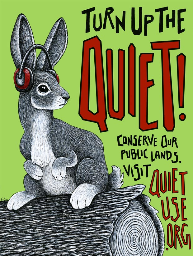 Quiet Use Coalition poster