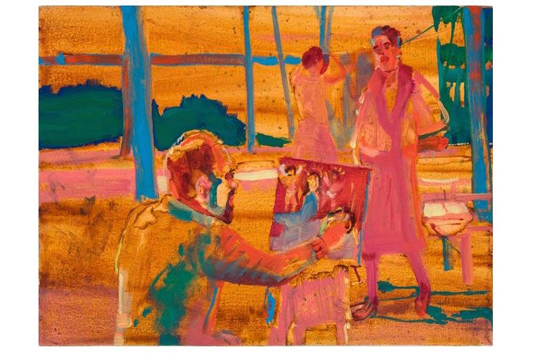 Viridiana painting scene #1