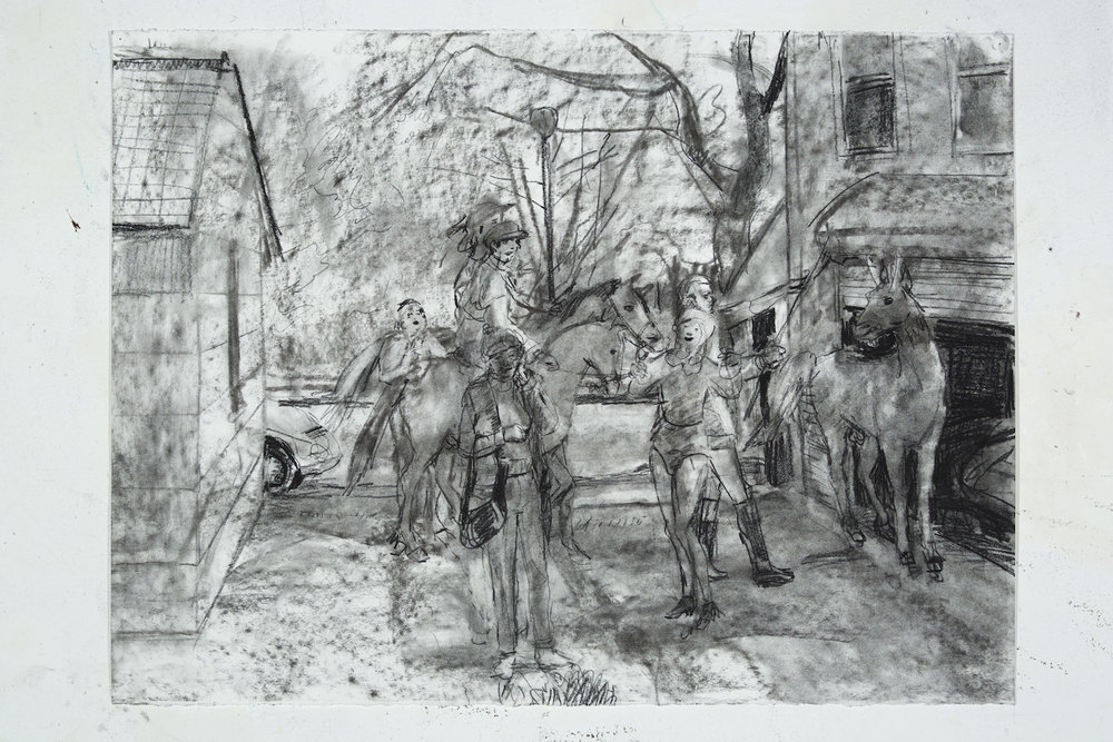 Driveway charcoal 28 by 40 inches 2015.jpg