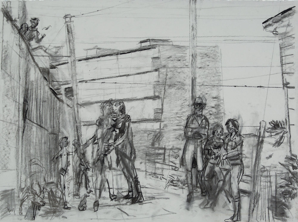 Public charcoal 28 by 40 inches 2015.jpg