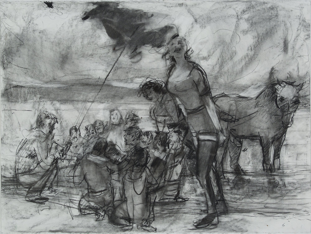 To Learn is to Forget charcoal 28 by 40 inches 2015.jpg