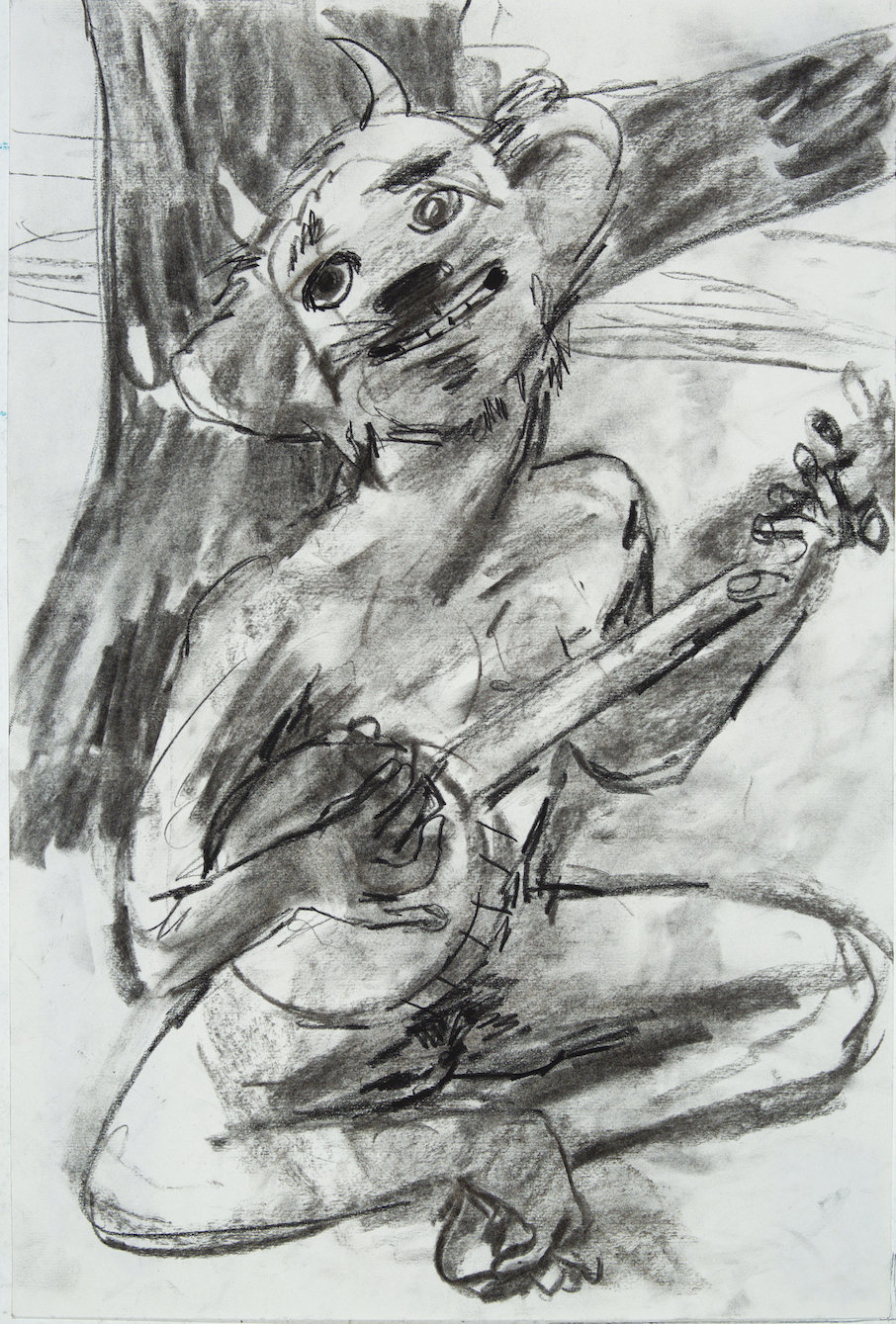 Bango charcoal 24 by 18 inches 2015.jpg