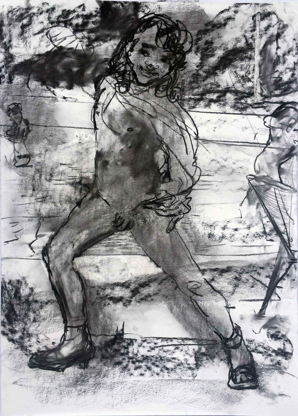 Son 18 by 24 inches charcoal on paper 2017.jpg