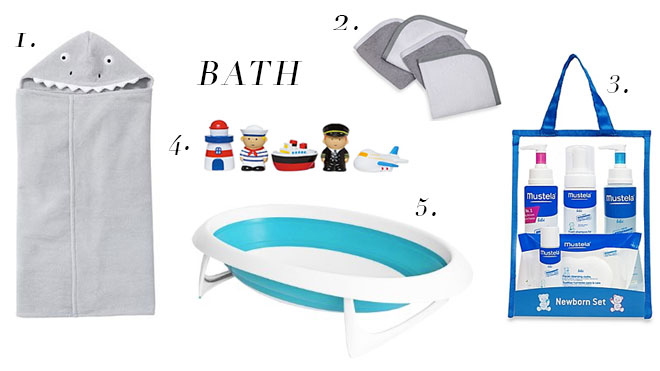 The Life Styled Baby Registry Bath