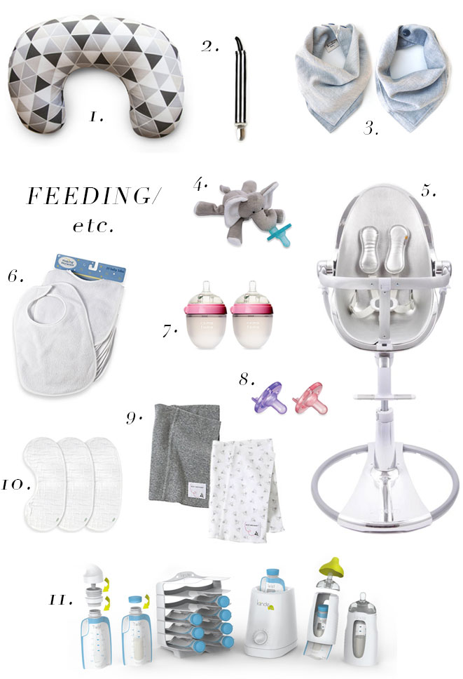 The Life Styled Baby Registry Feeding