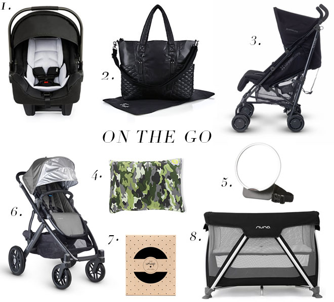 Life Styled Baby Registry On the Go
