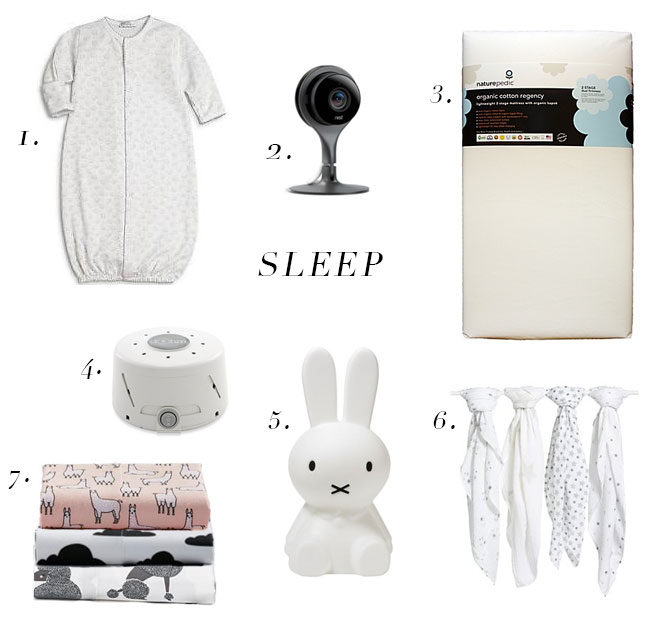 The Life Styled Baby Registry Sleep
