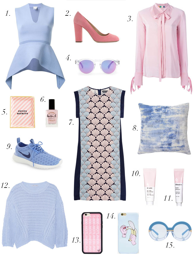 The Life Styled Pantone 2016 Rose Quartz Serenity