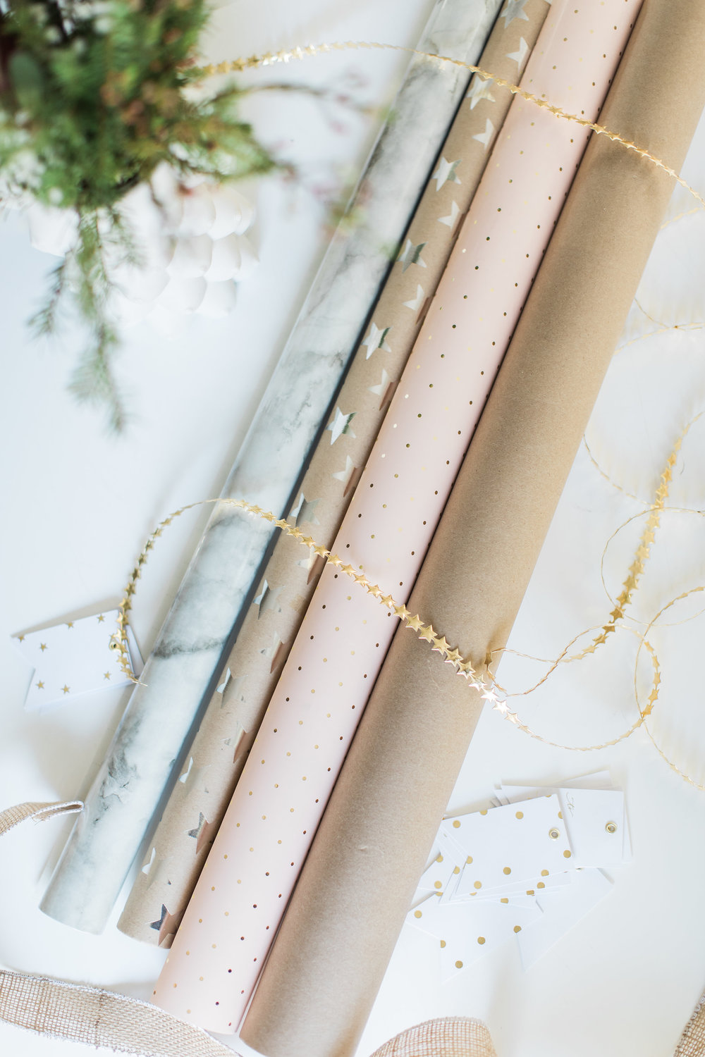 The Life Styled Christmas Wrapping