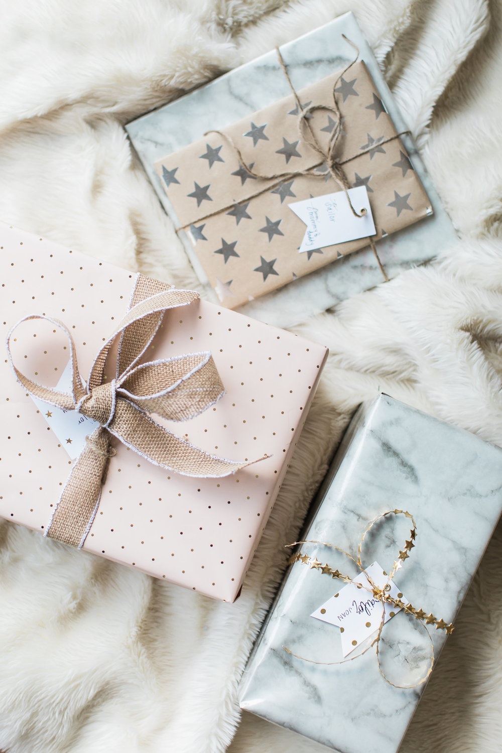 The Life Styled Wrapped Gifts
