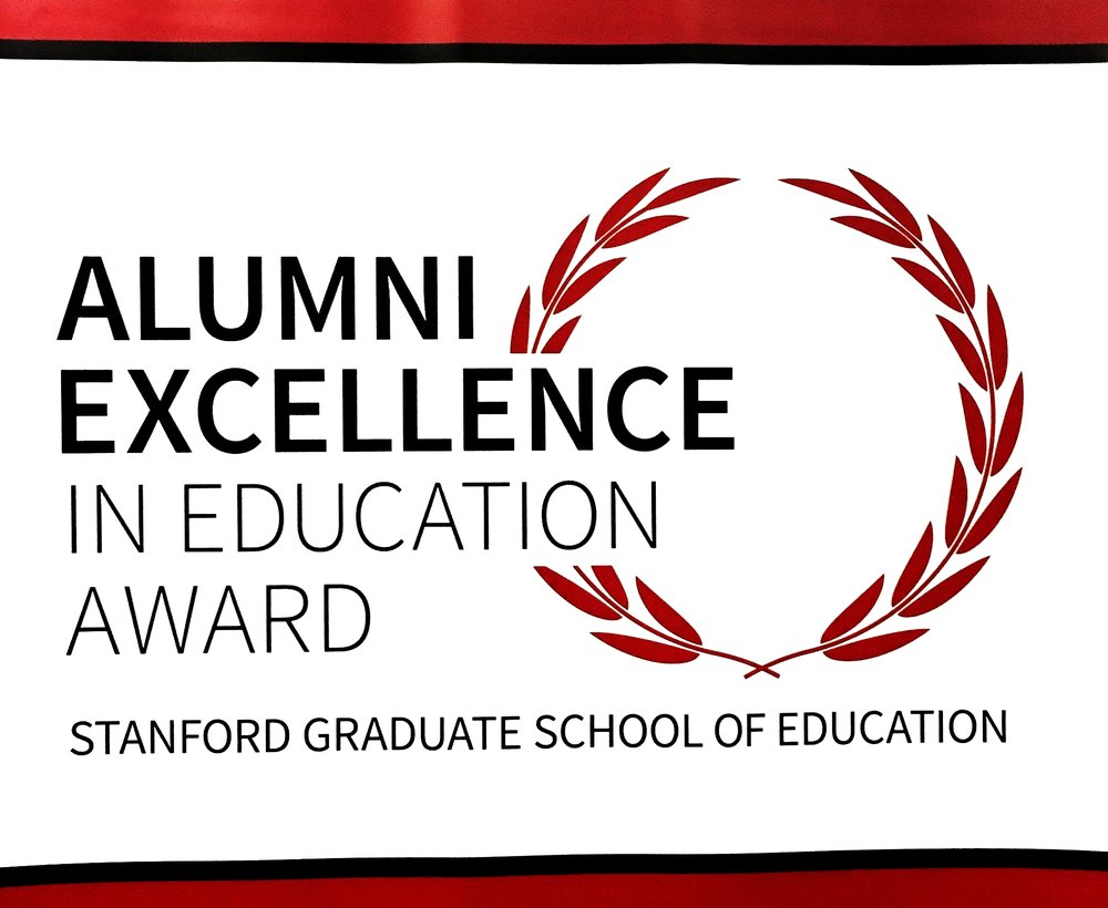Alumni Excellence in Ed Award Banner Stanford.JPG