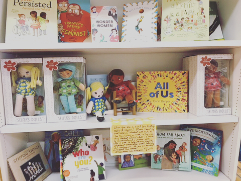 Decatur friends!!! Pop into @littleshopofstories and check out Selma's Dolls- especially if you need some air conditioning during the Decatur Arts Festival this weekend. #shoplocal
