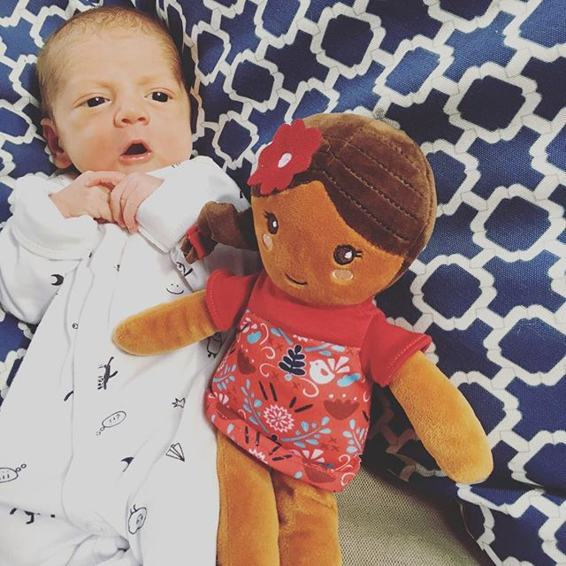 Meet the newest member of the Selma's Dolls team- Gabe!! Our amazing co-founder @valerieagoodwin gave birth to her third tiny love last week. Congratulations to Val and her sweet family!!!!