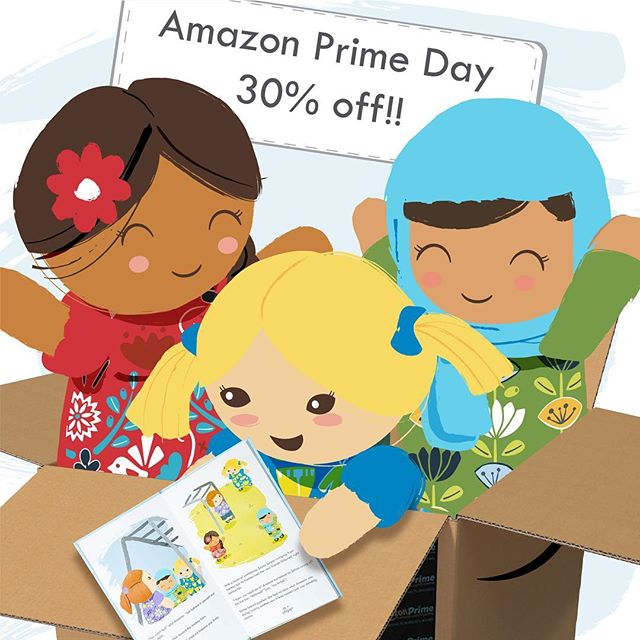 IT'S PRIME DAY!!! Don't miss your chance to grab Selma's Dolls at 30% off for today only!!! This is a great chance to finish your collection, get a head start on holiday shopping, or surprise a friend with a beautiful doll.  Hurry over to Amazon to get yours today!!!! #primeday #diversity #inclusionmatters #inclusion #diversedolls #selmasdolls #downsyndrome #muslim #mexican #acceptance #love