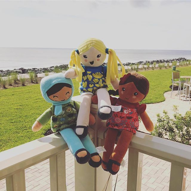 Is anyone else soaking up these last few days of summer before the kids head back to school?! We sure are!! This is the perfect time of year to grab a set of Selma's Dolls and spend some quality time teaching your little one about the beauty of all the fun new friends they'll make in the new school year!