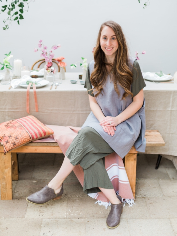 Tiffany Siladke, owner of Foraged Home and Foraged Floral