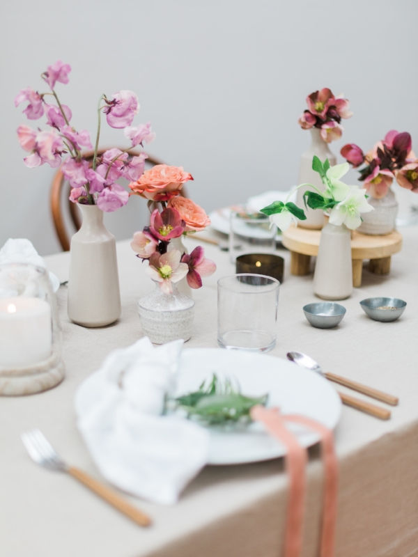 Garden party table decor inspiration at Foraged Home