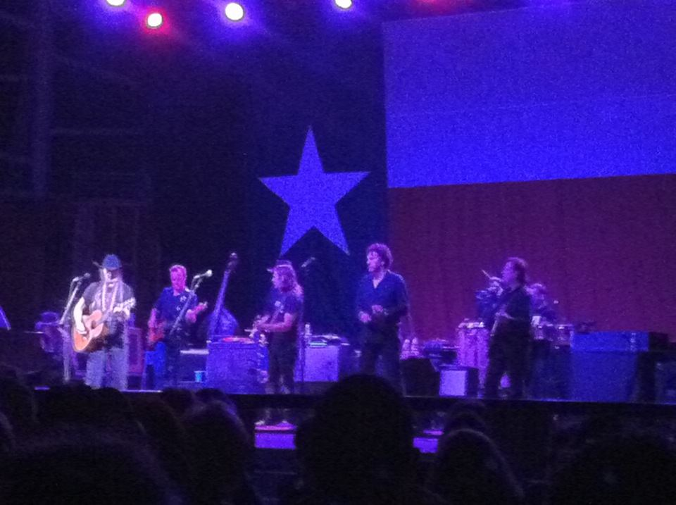 Willie Nelson and the family!