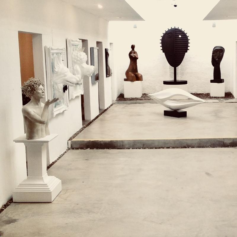 Corsica:   Museum grade contemporary Mexican sculpture. Do not touch
