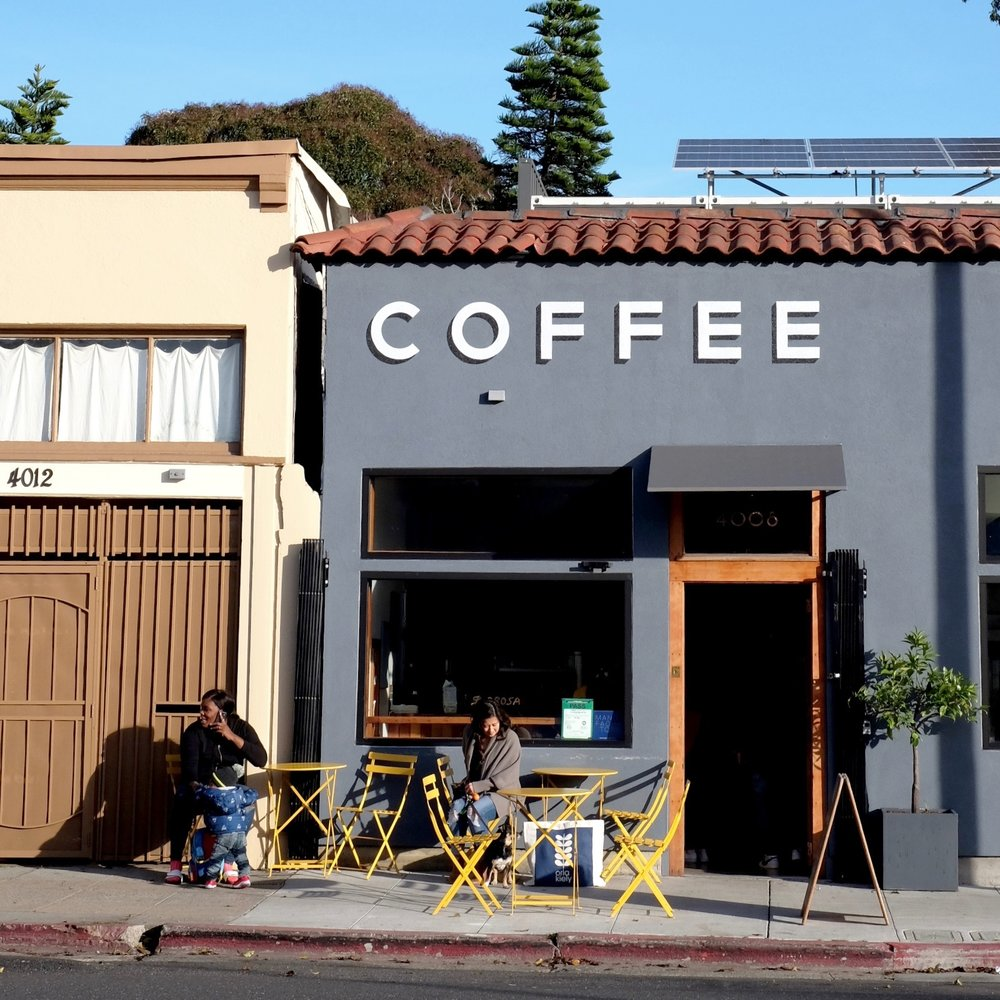 Subrosa MLK :  Stylie, simple, and delicious. No-nonsense interior and design with all you need = coffee.