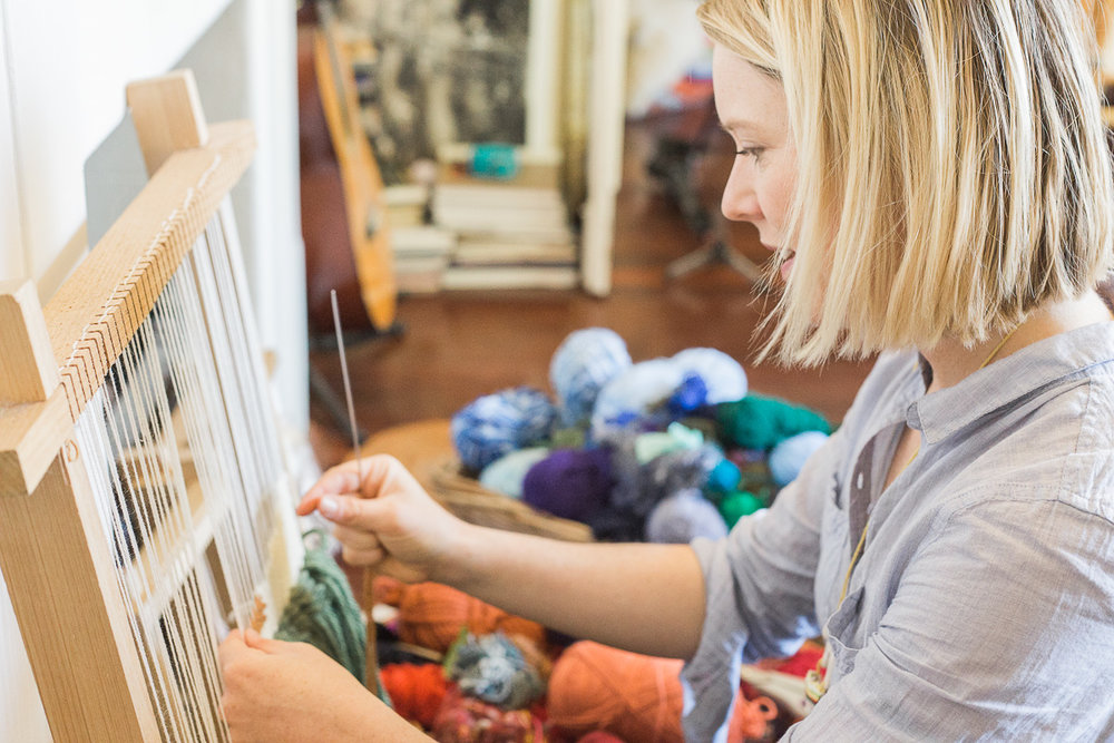 Phoebe is a textile artist and Fremantle native who shares her love for craft, natural fibres and the loom through her regular workshops.
