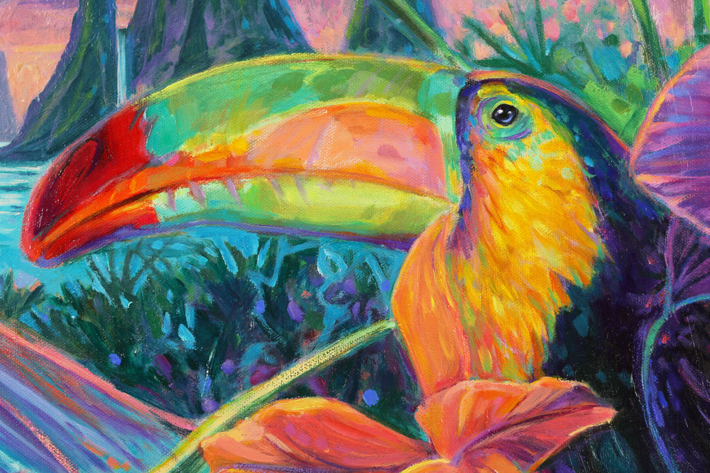 Rainbow Toucan from Toucan Sunset