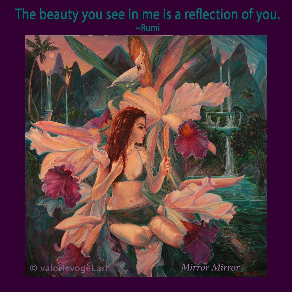 Mirror Mirror-Valorie Vogel
