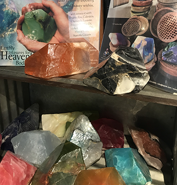 Soap Rocks are beautiful and make an amazing addition to any bath area