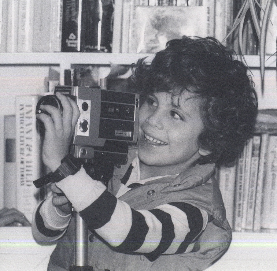 Age 5 with Super 8mm