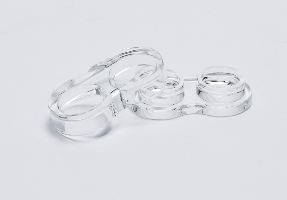 Glasce reusable contact lens cases