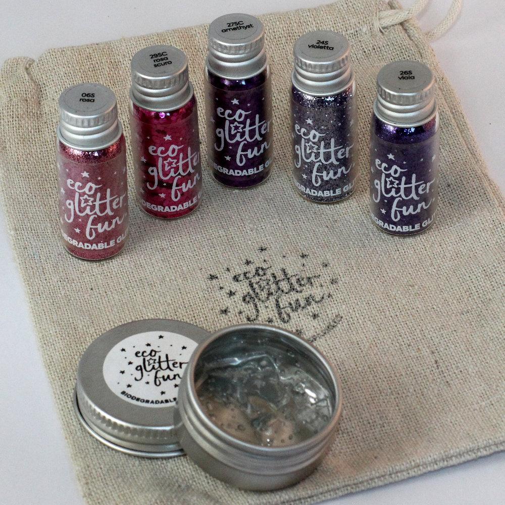 Pinky set - Biodegradable glitter - face-body-hair - ecoglitterfun2.jpg