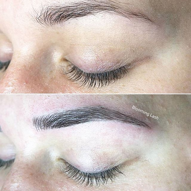 Get your microblading done right with Blooming Lash ! . . . . . #microblading #makeuptattoo #eyebrowtattoo #eyelinertattoo #minklashes #silklashes #lashlift #lashtint #bloominglash #portwashington #fullliptattoo #semipermanent #eyelashextension #like #beauty #facial  #longisland #nymaketattoo #반영구 #뉴욕 #속눈썹