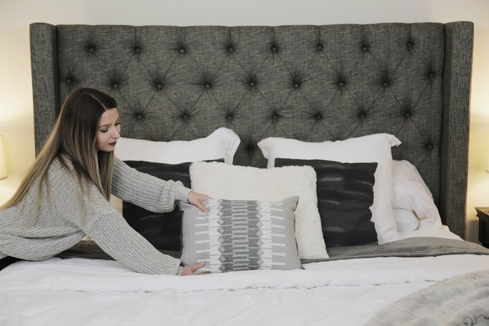 how to style your bed kristen mcgowan