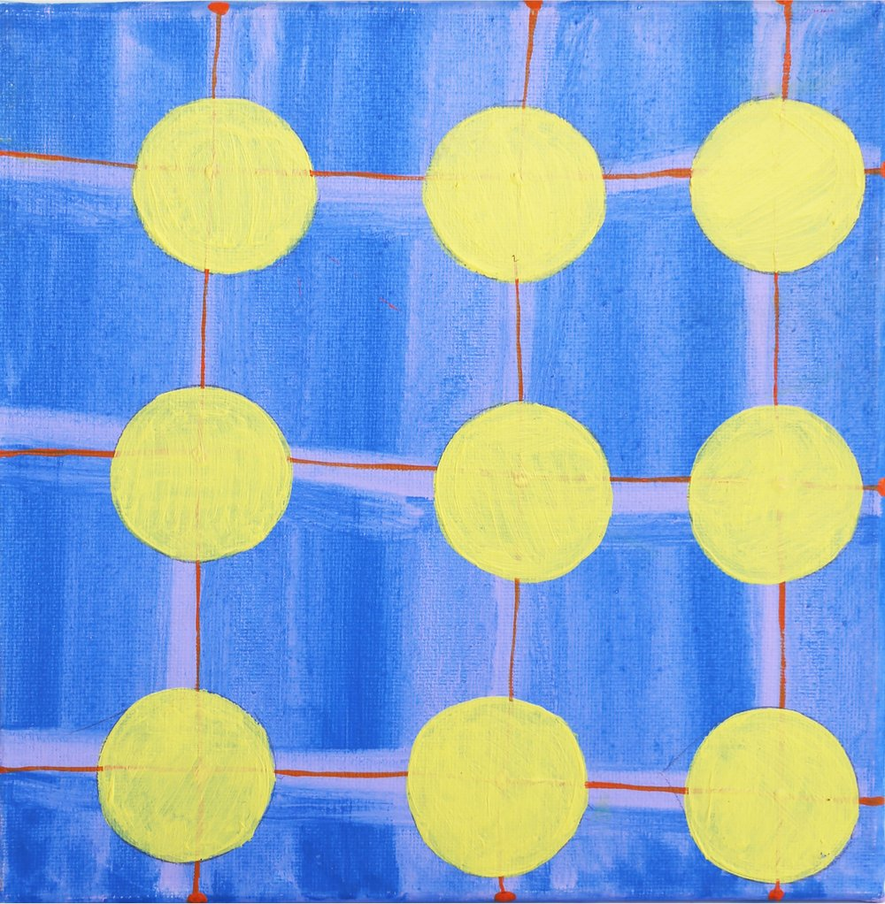 Yellow Circles, 2017.