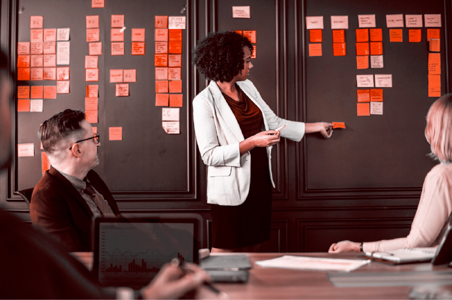 Process mapping facilitation case study -