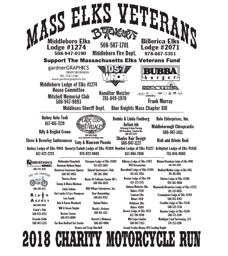 Billerica MA Elks Vets Bike Run.PNG