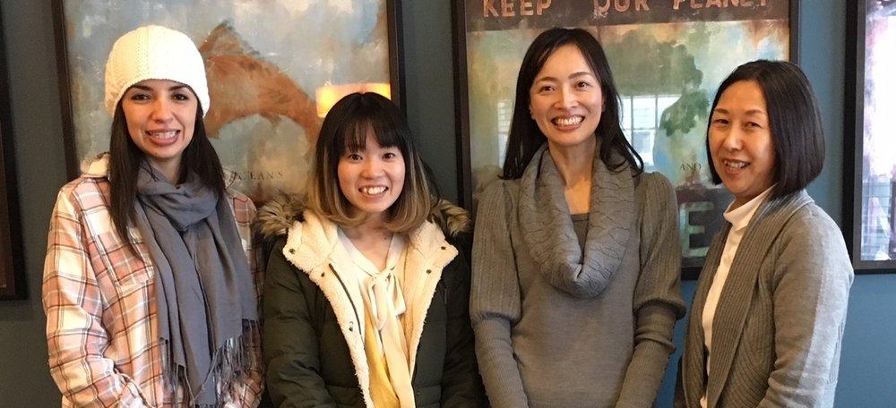 Yazmin, Chihiro, Keiko, and Akiko Spruce Ridge 2018.JPG