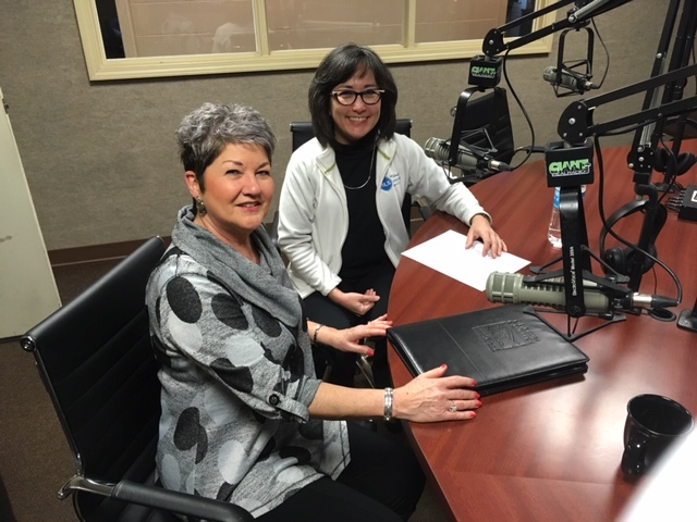 Julie Metz, Executive Director of the Shelby County Chamber of Commerce, interviewed Tanya Hoover, President of Midwest Language Services on Giant FM, 106.5 in Shelbyville, Indiana.