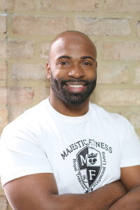 """Gil Cuero - """"As a certified personal trainer for the past seven years, I've had the pleasure of training clients ranging from professional athletes to toddlers. I specialize in weight loss and functional training, which helps me to assist my clients in building muscle mass, reducing body fat, and in improving flexibility and range of motion. My NASM certifications include Corrective Exercise Specialist, Nutritional Guidance, Nueromuscular Stretching, Cardiovascular Training, as well as others. I pride myself in everything that I put my efforts into and I enjoy helping others reach their full potential."""